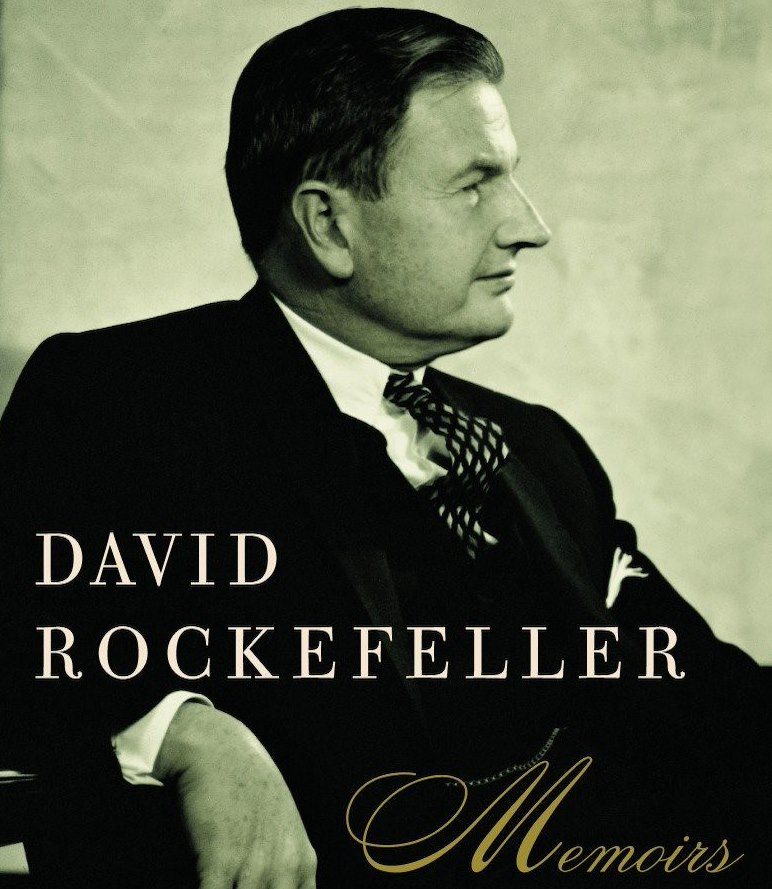 David Rockefeller Book Cover