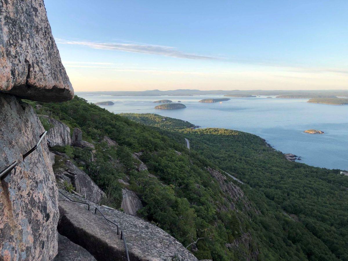 Precipice view of mountain